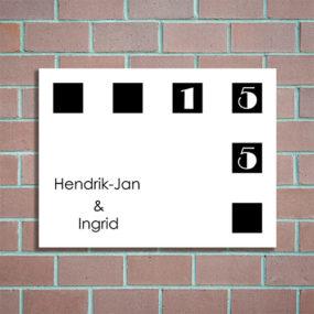 design naambordje maken