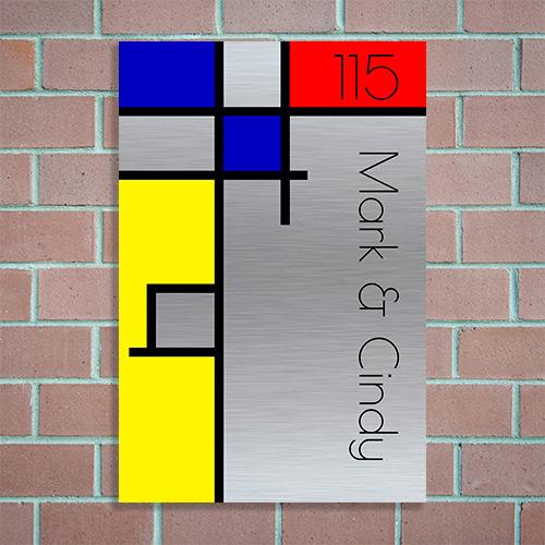 huisnummer maken