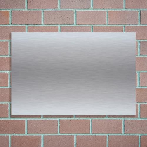 naambordje aluminium