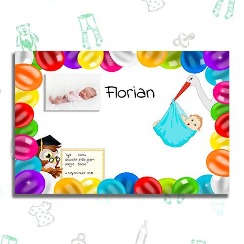 geboortetegel bestellen