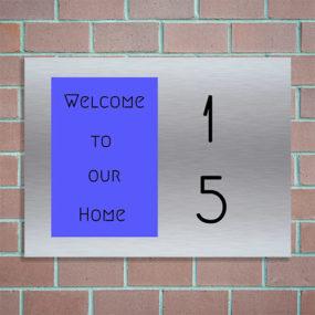 huisnummerbordje