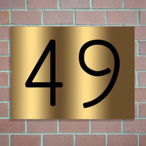 eigen huisnummer maken